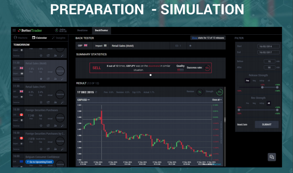 prepartion - simulation