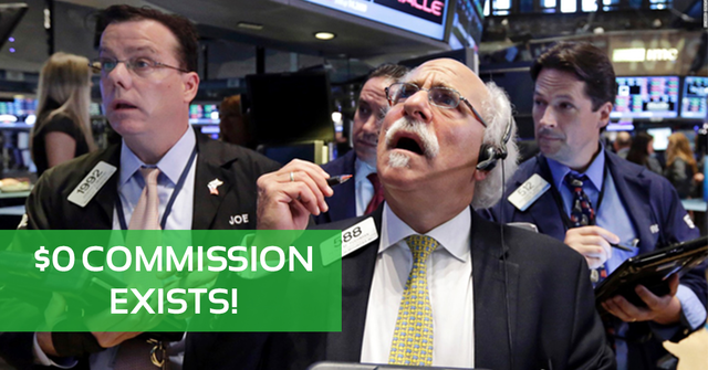 free stocks trading - zero commissions